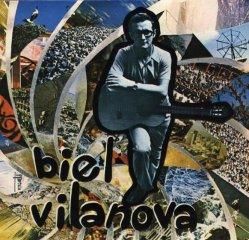 Imatges del disc gravat l'any 1971, en el qual vaig acompanyar amb el contrabaix en Biel Vilanova, cantant les seves cançons