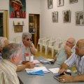 Reunió de membres de SABAL a la seu de l'Associació Picalsud, dilluns, 9 de juliol de 2007